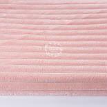 Плюш в полоску Stripes, цвет розовой пудры, фото 3