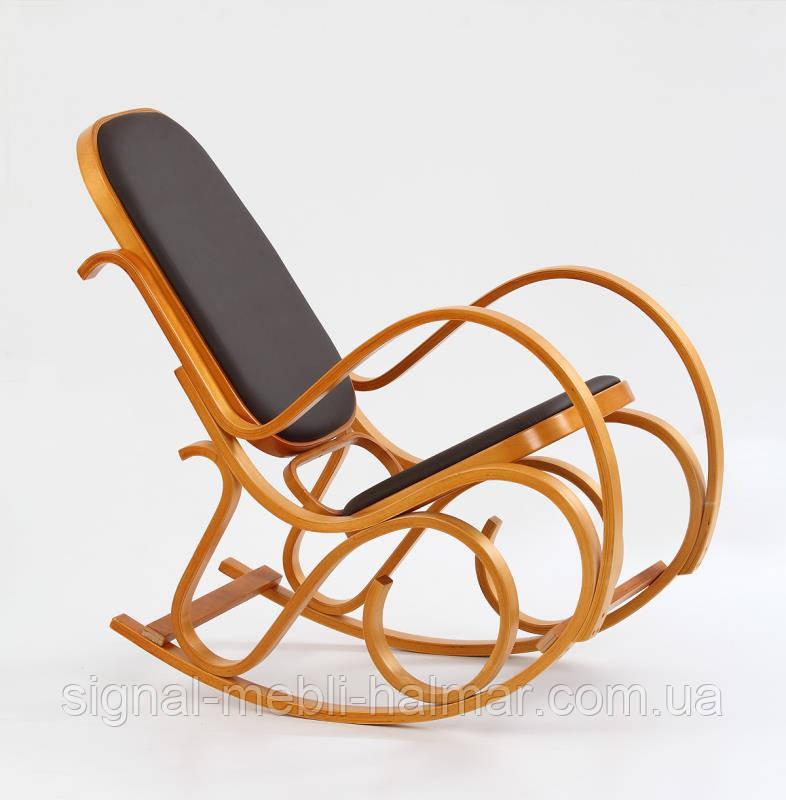Кресло качалка MAX BIS PLUS (ольха) (Halmar)