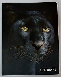 Блокнот настоящего хищника Дерзость (Пантера)