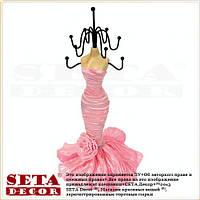 Подставка под бижутерию Девушка в платье