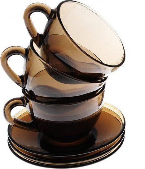 Набор чайный Luminarc Simply 6 чашек+6 блюдец (J1261)