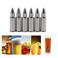 "Камни для охлаждения напитков/ Набор ""Пули"" / для виски / для пива"