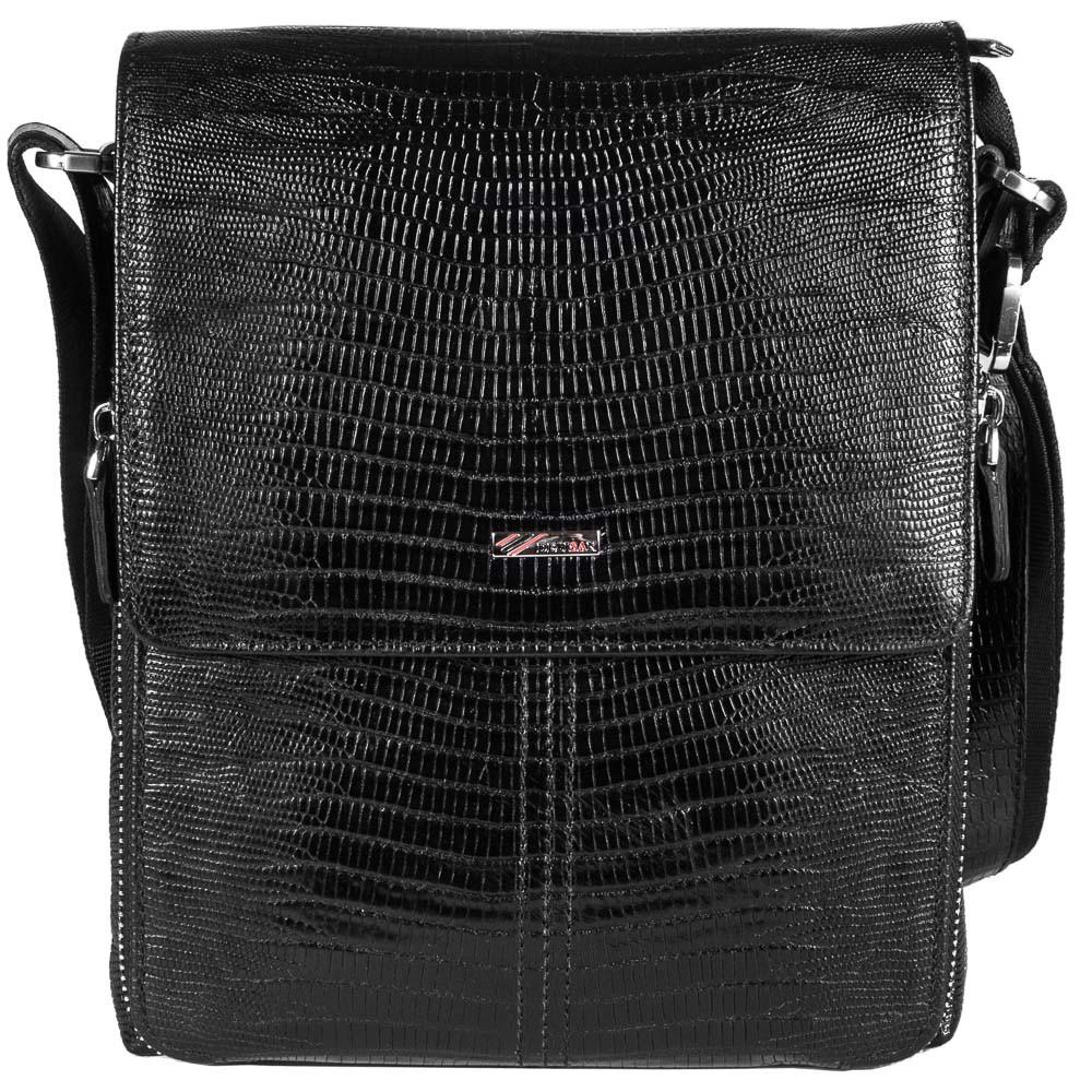Мужская кожаная сумка барсетка Desisan