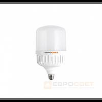Лампа світлодіодна високопотужна ЕВРОСВЕТ 30Вт 6400К EVRO-PL-30-6400-27 Е27