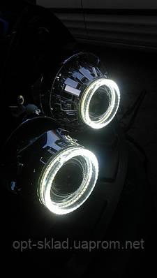 Светодиодные ангельские глазки  LED для биксеноновых линз G5 2,5 дюйма