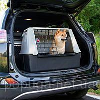 Автомобильная переноска для собак Atlas Car 80 Ferplast, 82*51*61см, фото 3
