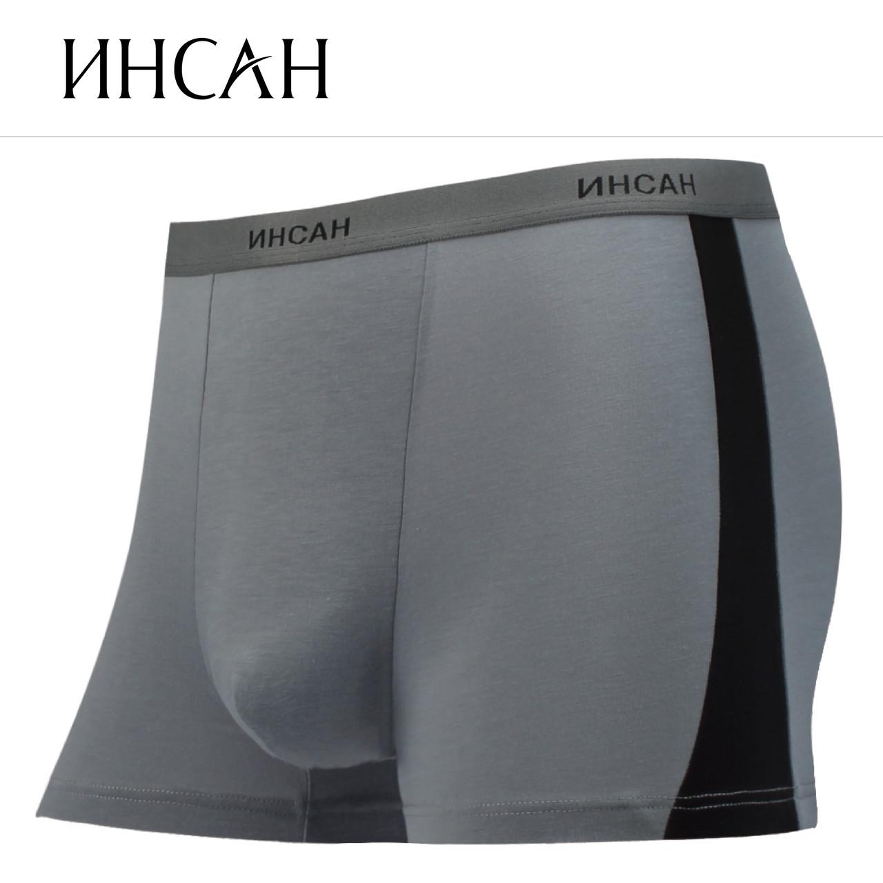 Чоловічі стрейчеві боксери Марка «ІНСАН» Арт.INS-854