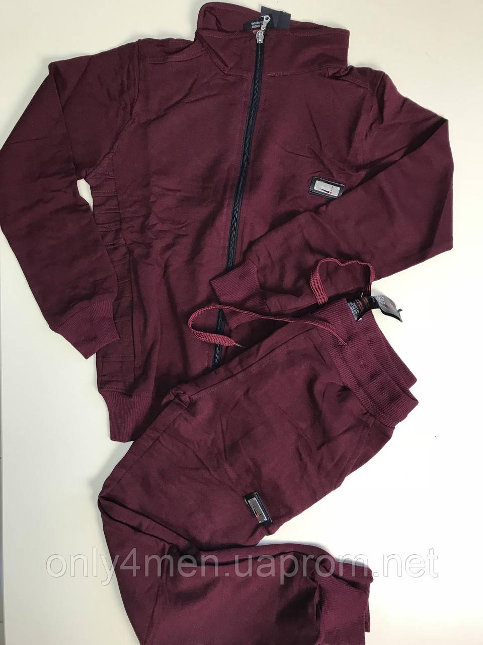 Спортивный костюм марсал для мальчика 128-170р