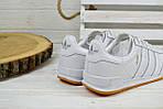 Кроссовки мужские Adidas Jeance белые 2378, фото 2