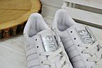 Кроссовки мужские Adidas Jeance белые 2378, фото 3