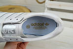 Кроссовки мужские Adidas Jeance белые 2378, фото 4