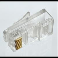 Коннектор (штекер витой пары) RJ45 / 8Р8С для компьютера