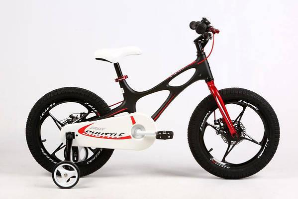 """Детский велосипед ROYAL BABY SPACE SHUTTLE 16""""  Черный/Белый"""