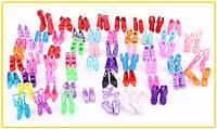 Набор модельной,яркой кукольной обуви 10пар, фото 1