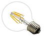 Лампа Эдисона светодиодная 6Вт G95-6S6W шар