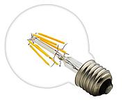 Лампа Эдисона светодиодная 6Вт G95-6S6W шар , фото 1