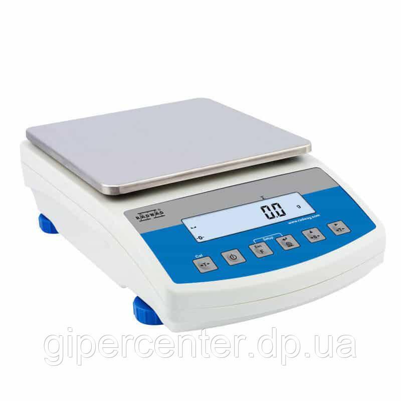Весы лабораторные Radwag WLC 10/С/1 до 10000 г дискретность 0,1 г
