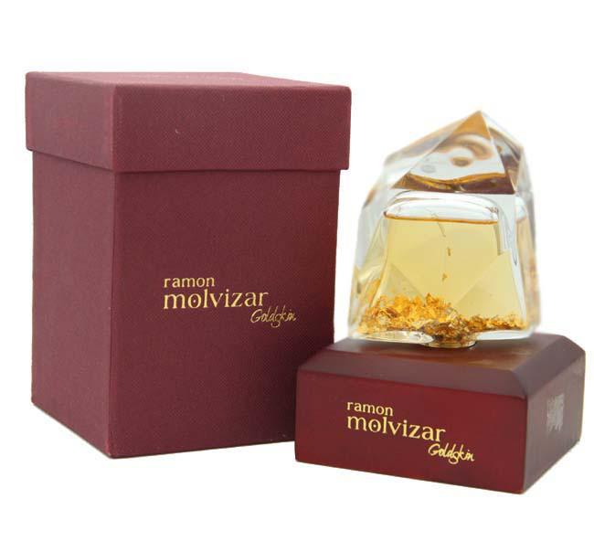 Ramon Molvizar GoldSkin 75ml парфюмированная вода (оригинал)