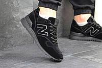 Кроссовки мужские New Balance 1400 (черные), ТОП-реплика, фото 1