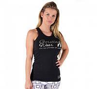 Майка для фитнеса Florence Tank Top - Black/Silver, фото 1