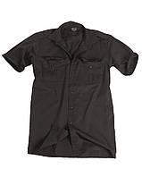 Рубашка с коротким рукавом MilTec Black 10932002