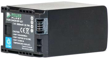 Аккумулятор PowerPlant Canon BP-827 Chip 2800mAh - Интернет-магазин Мир Моби в Киевской области