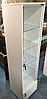 Шкаф-витрина с подсветкой и прозрачными стеклянными полочками, фото 4