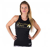 Майка для фитнеса Florence Tank Top - Black/Gold, фото 1