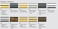Карниз латунь, наконечник мрамор черный, красный, белый, диаметр 35, 30, 20, фото 1