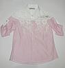 Модная рубашка для девочек от 5 до 8 лет.