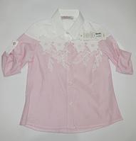 Модная рубашка для девочек от 5 до 8 лет., фото 1