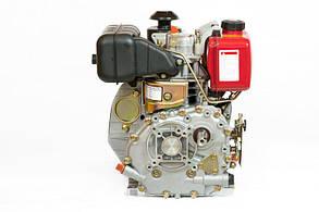 Двигатель дизельный WEIMA WM178FS(R) (6 л.с., шпонка, вал 25 мм), фото 2