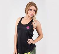 Майка для фитнеса Santa Monica tank top - Black/Pink, фото 1