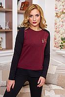 Блуза двухцветная, фото 1