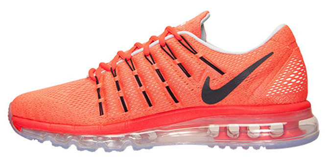 Мужские кроссовки Nike Air Max 2016 Orange Grey - Магазин обуви с хорошими  ценами в 9fab78e0d68