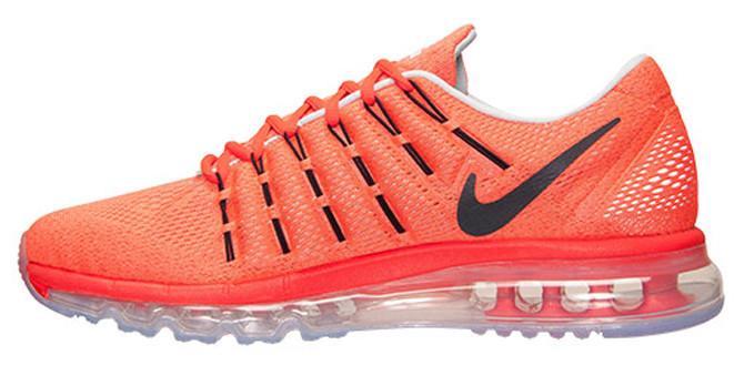 b0ecf645 Мужские кроссовки Nike Air Max 2016 Orange/Grey - Магазин обуви с хорошими  ценами в
