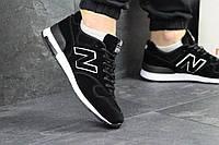 Кросівки чоловічі New Balance 1400 (чорно-білі), ТОП-репліка, фото 1