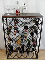 Стол-стелаж для хранения вина 131-45, фото 1
