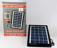 Солнечная панель Solar board 3W-9V + torch charger, солнечная зарядка для телефона и фонаря
