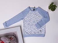 Кофта для дівчинки Suzie Лола блакитний 116