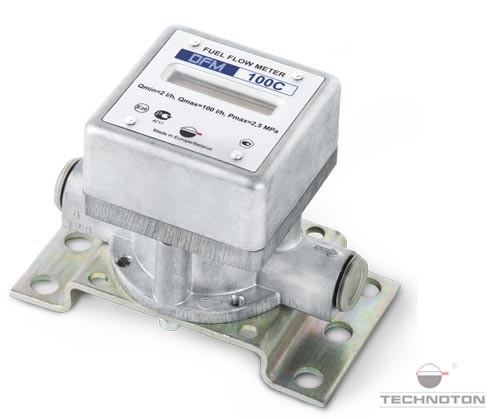 Автономний витратомір з дисплеєм (витрата палива + час роботи двигуна) DFM 100C
