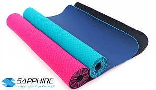 Коврик для йоги и фитнеса Sapphire SG-107 4 мм