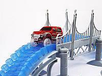 Детская игрушечная дорога  360 деталей + 2 машинки