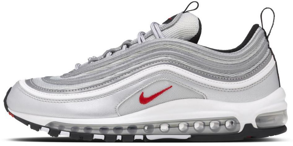 Мужские кроссовки Nike Air Max 97 OG QS Metallic Silver - Магазин обуви с  хорошими ценами 32b3e57fb8a