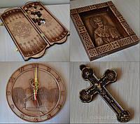 Сувенірна продукція з дерева (сувеніри з дерева, церковне начиння)