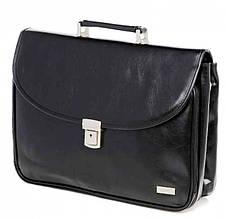 Деловой портфель из искусственной кожи VERSO B064 черный