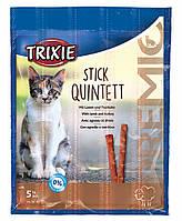 Лакомство Палочки с ягненком и индейкой для кошек 5 шт Trixie