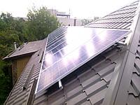Система креплений для 6 шт солнечных панелей на крышу