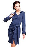 Модное повседневное платье из трикотажа джерси