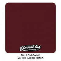 Краска для татуировочных работ Eternal Muted Earth Tones Old Orchid   1/2 oz, фото 1